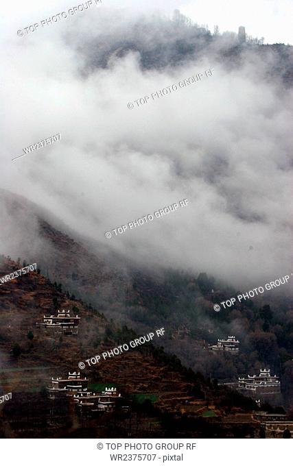 Danba County Ganzi Prefecture Sichuan Province