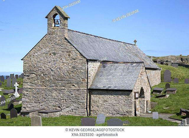 Llanbadrig Church, Cemaes; Anglesey; Wales; UK
