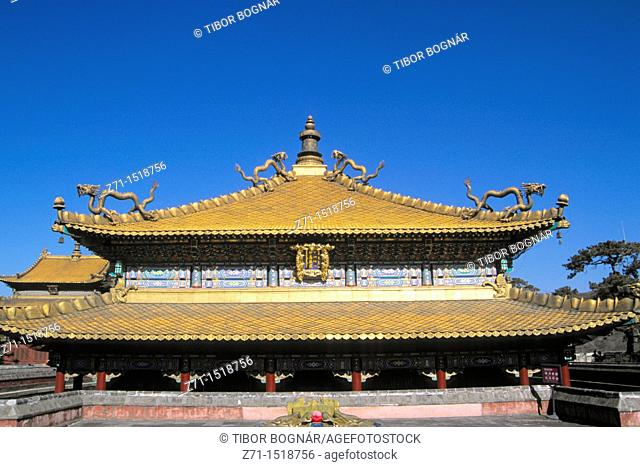 China, Hebei Province, Chengde, Temple of Happiness and Longevity, Xumifushouzhi Miao