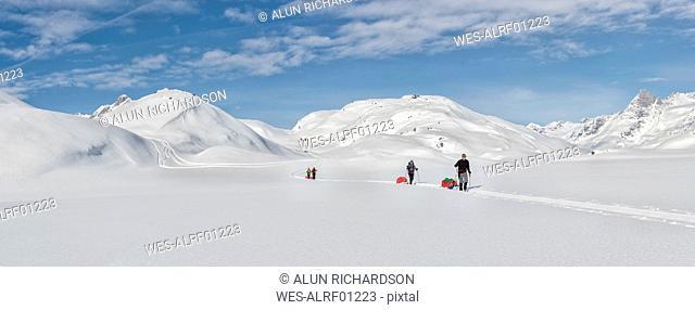 Greenland, Schweizerland Alps, Kulusuk, Tasiilaq, ski tourers