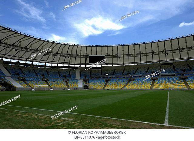 Maracana Stadium 2014 Inside