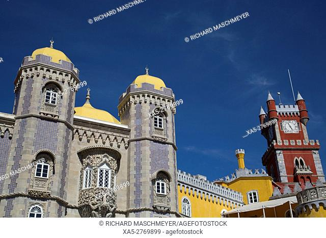 Pena National Palace, Sintra, UNESCO World Heritage Site, Portugal