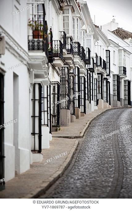 Typical street of Medina Sidonia  Medina Sidonia, Cadiz, Spain, Europe