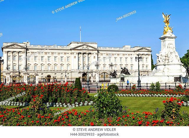 England, London, Buckingham Palace