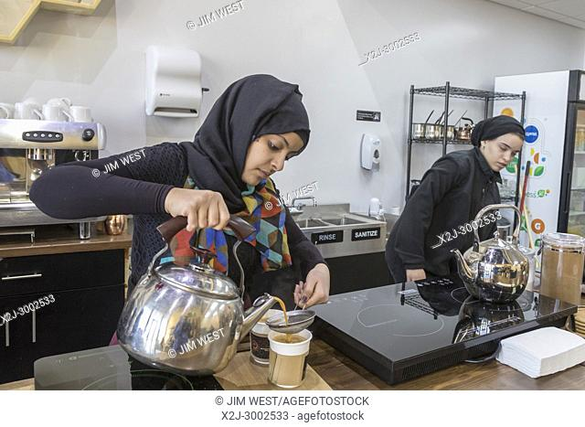 Dearborn, Michigan - A coffee shop called Qahwah House, which imports and serves coffee exclusively from Yemen. Coffee is said to have originated in Yemen in...