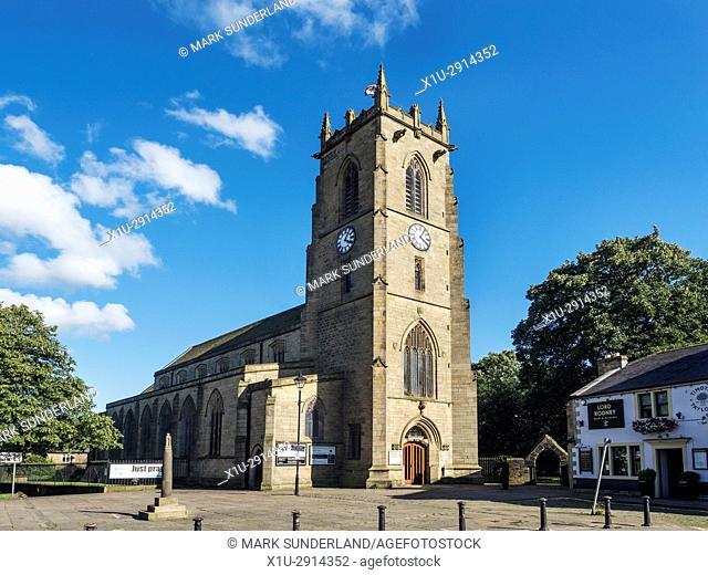 Keighley Shared Church on Church Street Keighley West Yorkshire England