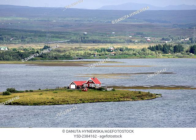 Quiet living in Iceland , single house on Lake Ellidavatn, Kópavogur - Iceland's second largest municipality by population, Iceland