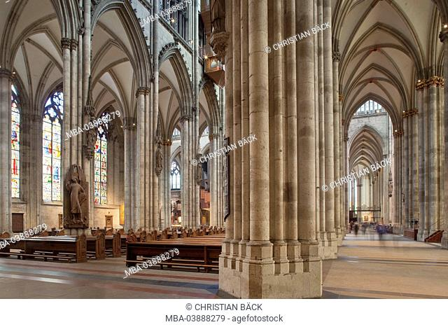 The Cologne Cathedral, Cologne, North Rhine-Westphalia, Germany, Europe