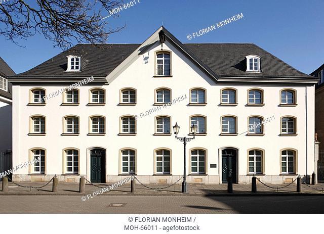 Haniel Museum von 1756, Fassade