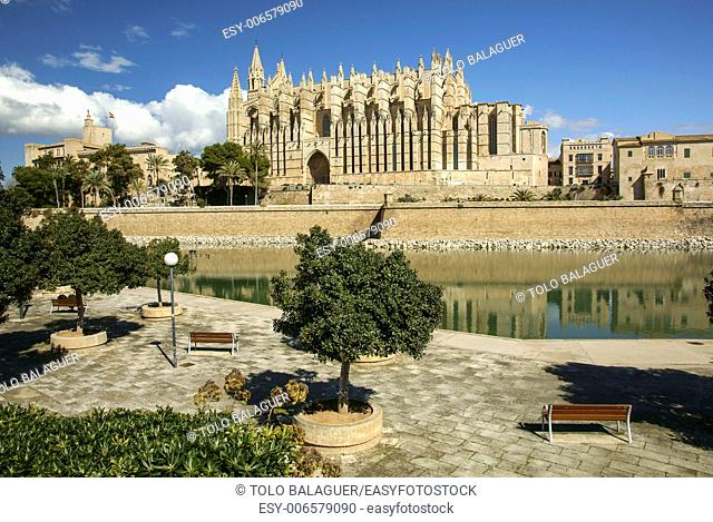 Catedral de Mallorca, XIII to XXcentury . Palma. Mallorca. Balearic Islands. Spain