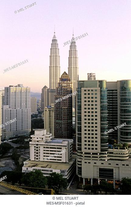 Petronas Tower, Twin Tower, KL, Kuala Lumpur, Malaysia, Asia