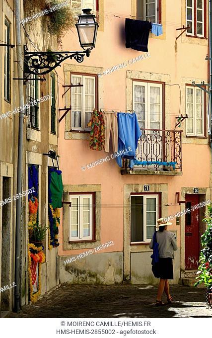 Portugal, Lisboa e Setubal province, Lisbon, Castelo de Sao Jorge district