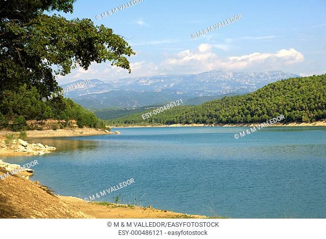 Reservoir 'Llosa del Cavall'  Solsonès  Lleida province  Catalunya  Spain
