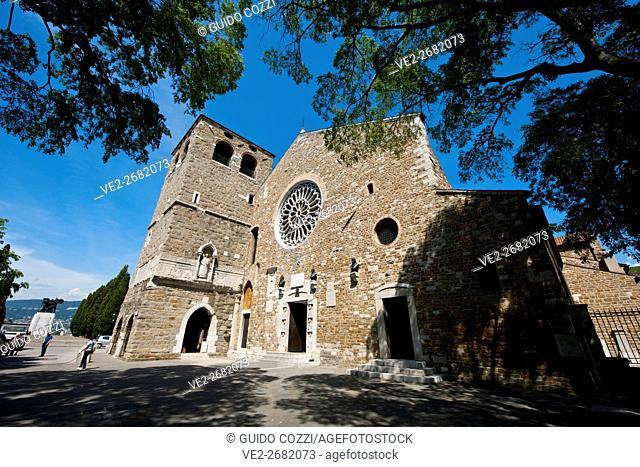 San Giusto cathedral, Trieste, Friuli-Venezia Giulia, Italy