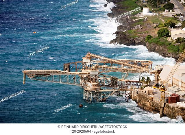 Phosphat Loading Wharf, Flying Fish Cove, Christmas Island, Australia