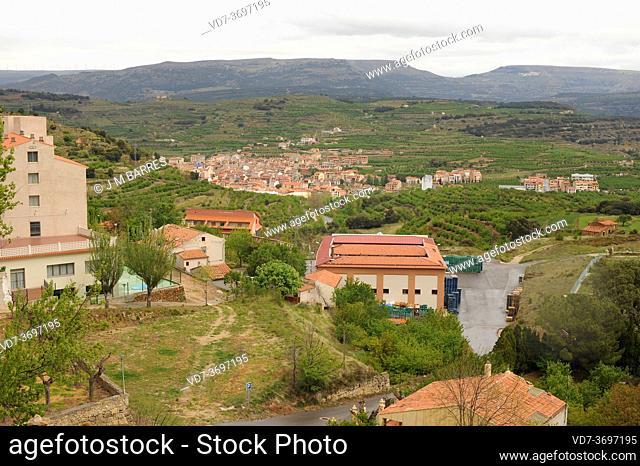 Benassal or Benasal. Alto Maestrazgo, Castellon, Comunidad Valenciana, Spain