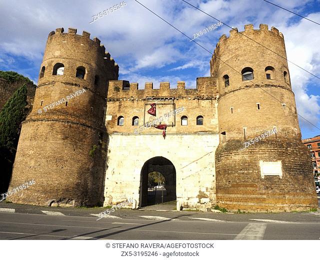 Porta San Paolo - Rome, Italy