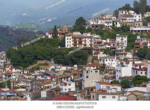 View of old town, Taxco, Guerrero state, Mexico
