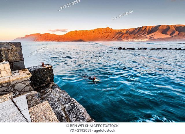 Famara, Lanzarote, Canary Islands, Spain