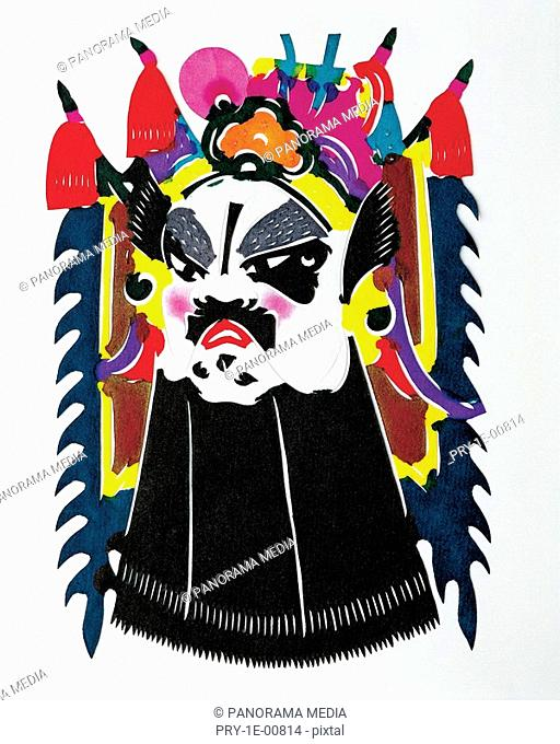 Painting mask of Bejing Opera