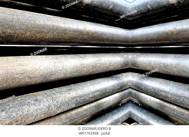 old square pipes
