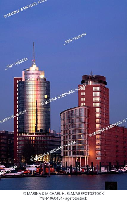 Hanseatic trade Center in Hamburg; Germany