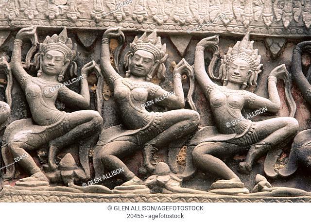 Prah Khan Temple. Angkor. Cambodia