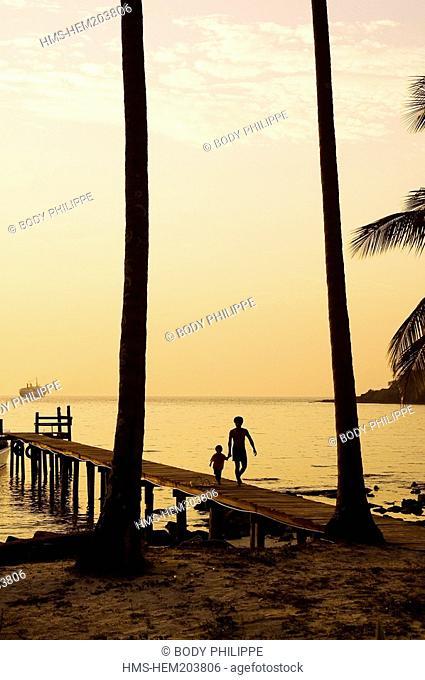 Thailand, Ko Kood Island, Siam Beach