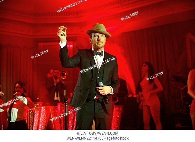 Matt Goss performs at the 'Hold Amy's Hand' fundraiser at the Dorchester Featuring: Matt Goss Where: London, United Kingdom When: 26 Jan 2015 Credit: Lia...