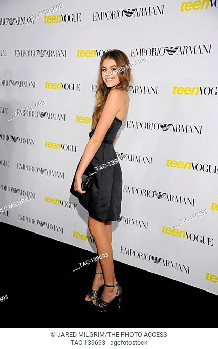 Kaia Gerber attends the Teen Vogue Young Hollywood Issue Party on October 2nd, 2015 in Beverly Hills, California