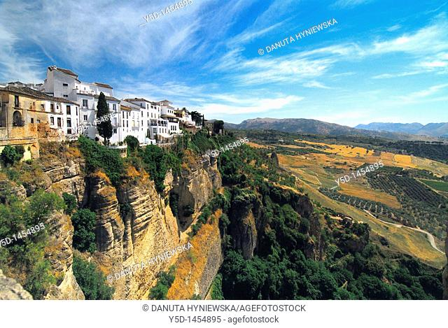 picturesque town of Ronda, Andalusia, Malaga province, Spain