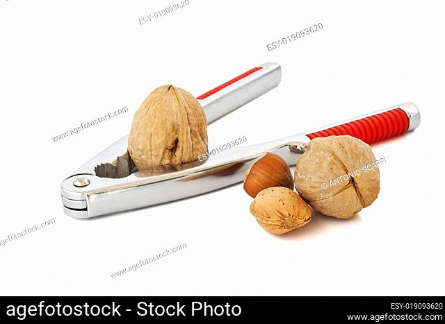 nutcracker and nuts
