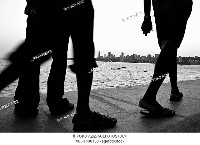 Walking, Mumbai, India