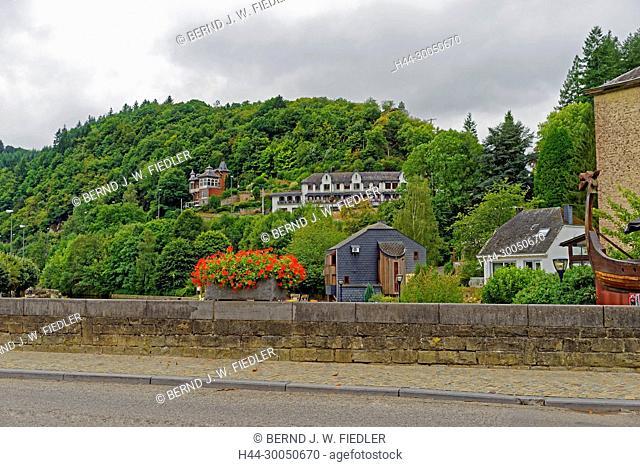Local view, La Smelling Roche-en-Ardenne Belgium