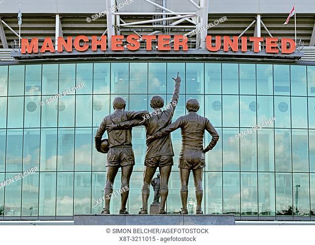 Old Trafford Stadium, Home to Manchester United Football Club, England, United Kingdom