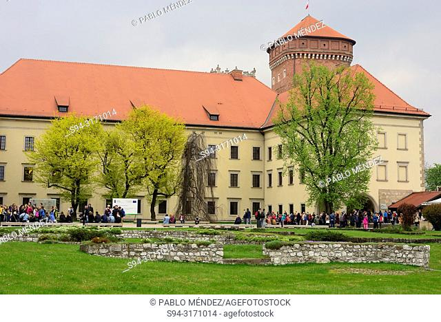 Wawel: Castle and gardens, Krakow, Poland