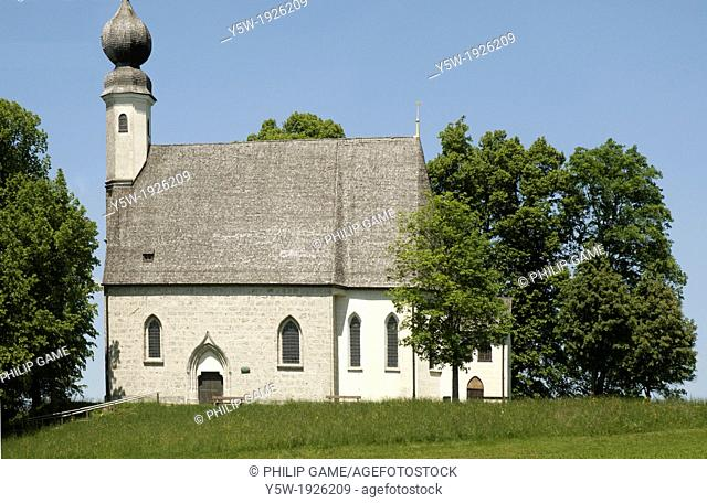 Country church outside Munich, Bavaria