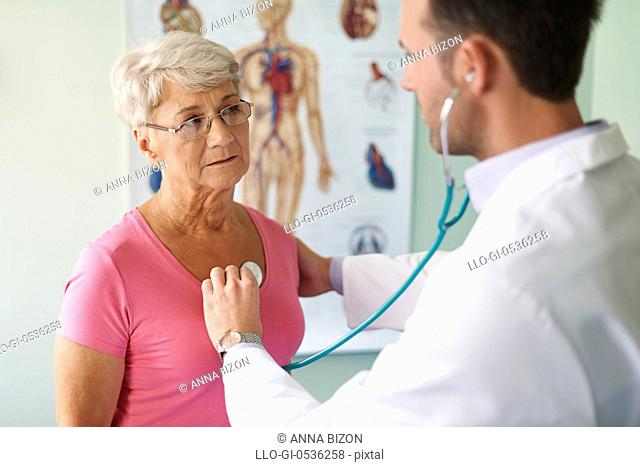 Control visit in the doctor. Debica, Poland