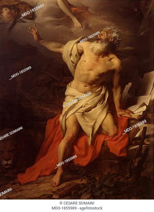 Saint Jerome Listens to the Angel who Blows the Trumpet of the Last Judgement (Saint-Jérôme écoute l'ange qui souffle la trompette du Dernier Jugement)