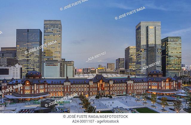 Japan , Tokyo City, Tokyo Station, West side