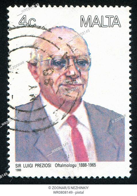 Ophthalmologist Luigi Preziosi