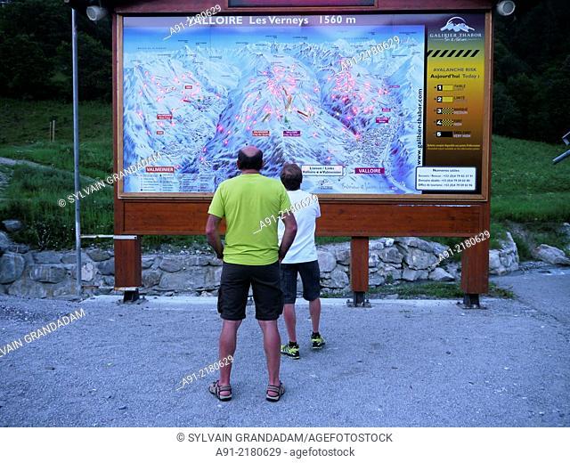 France, Savoie, Valloire neighbourhood