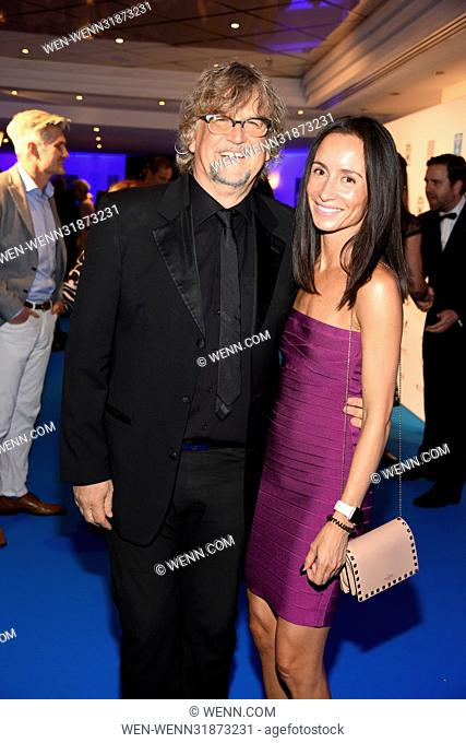 Spa Diamond Award 2017 at Hotel Palace. Featuring: Martin Krug, Alina Grohn Where: Berlin, Germany When: 03 Jul 2017 Credit: WENN.com