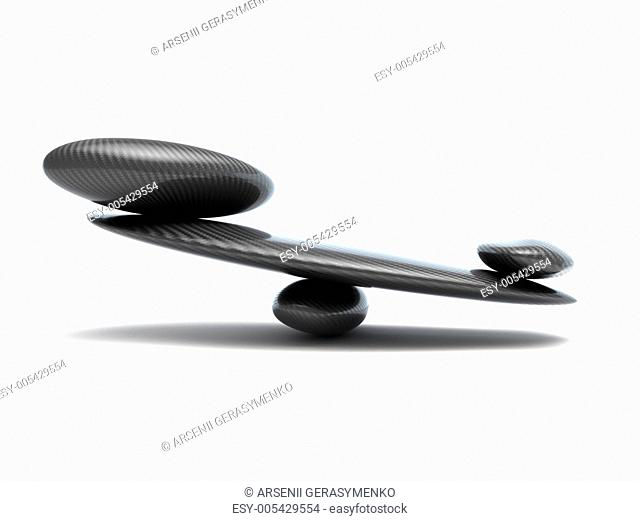 stability scales with carbon fiber shapes