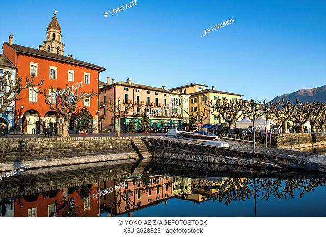 Switzerland, Canton Ticino, Ascona