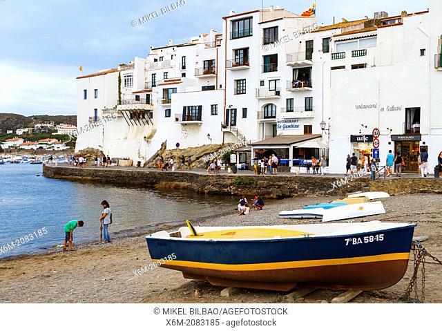 Cadaques village. Costa Brava, Girona. Catalonia, Spain