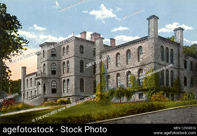 Cadet Hospital. West Point