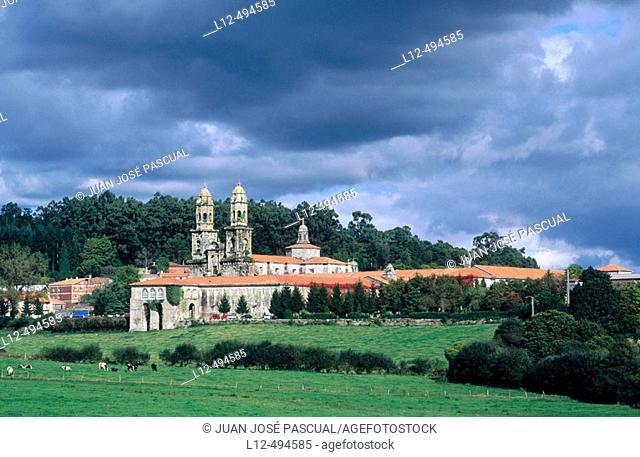 Sobrado dos Monxes monastery. La Coruña province, Galicia, Spain