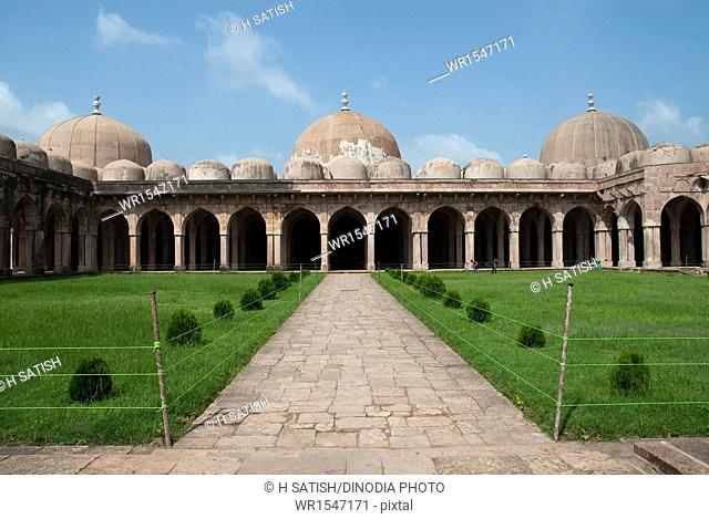 jama Masjid in Mandu at Madhya pradesh India Asia