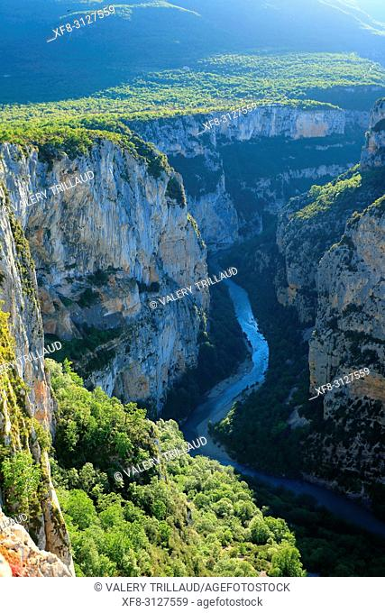 Gorges du Verdon, Parc regional du Verdon, Alpes de Haute Provence, 04, PACA,